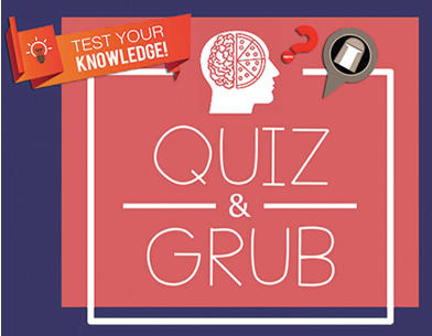 The Quiz & Grub Evening